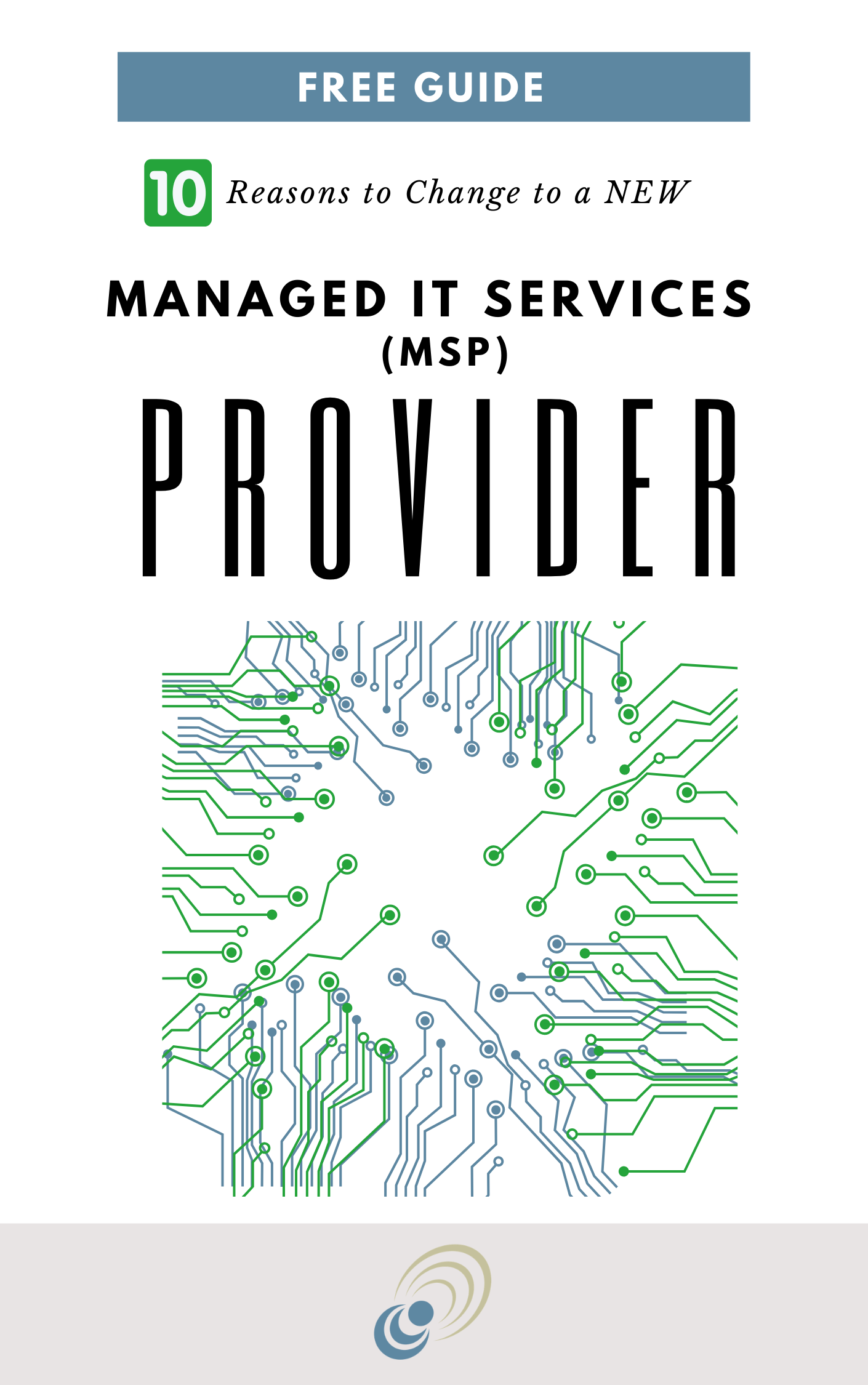 ten reasons to change to a new managed IT services provider guide