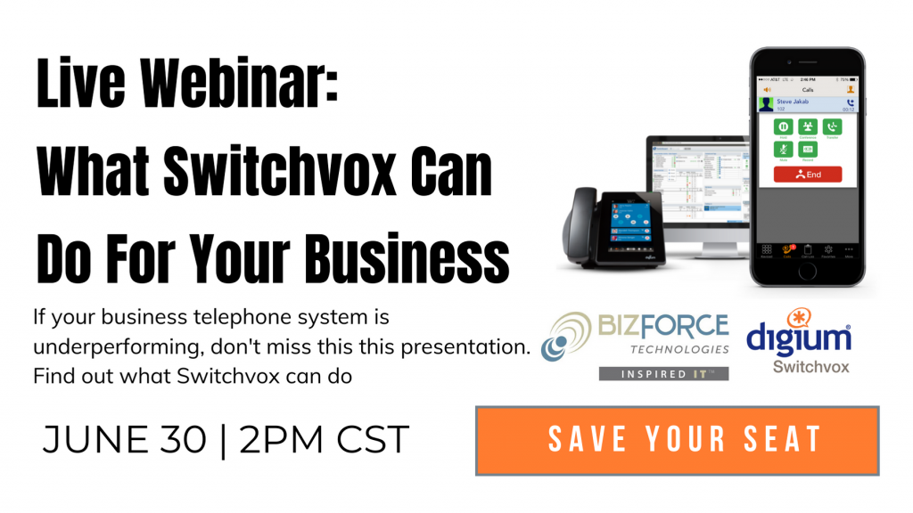 Switchvox business telephone webinar signup 6-30-20