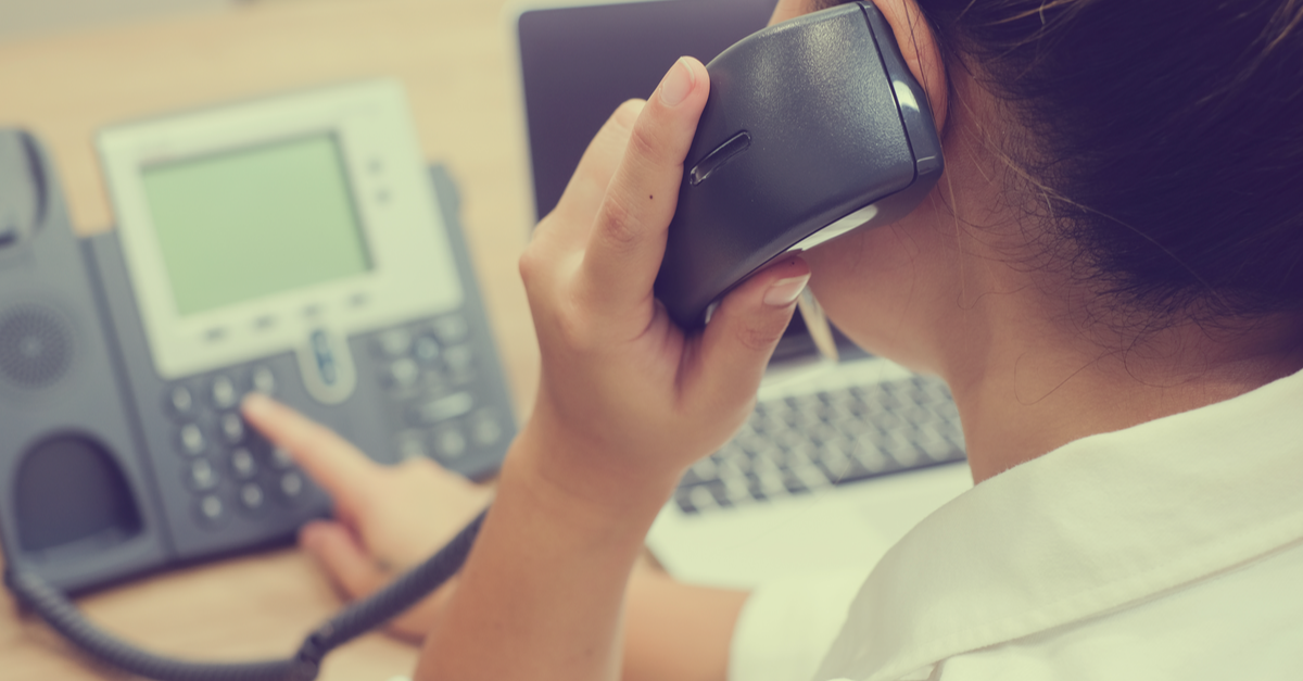 business using legacy telephone system