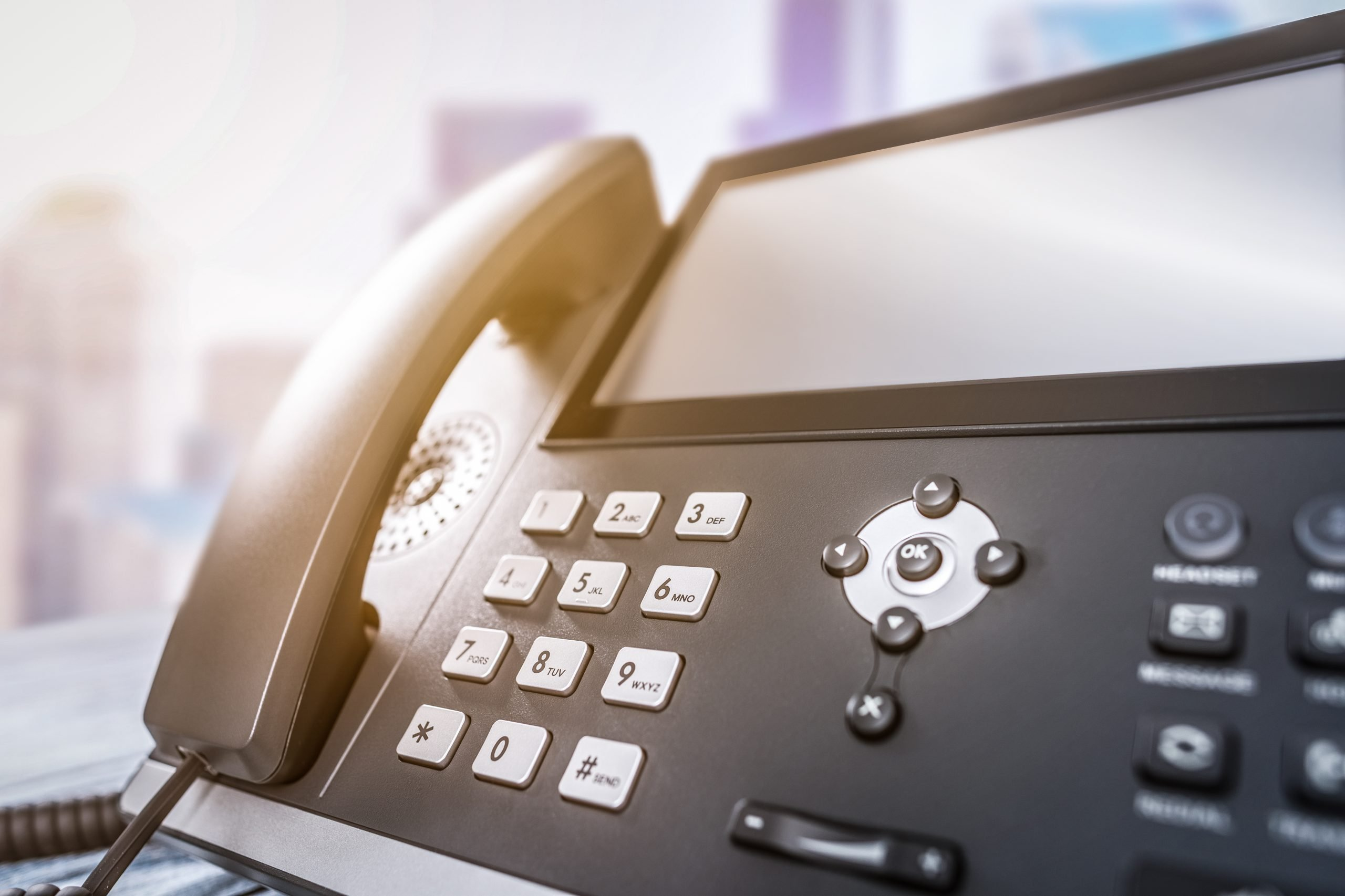 voip phone systems image of business phone