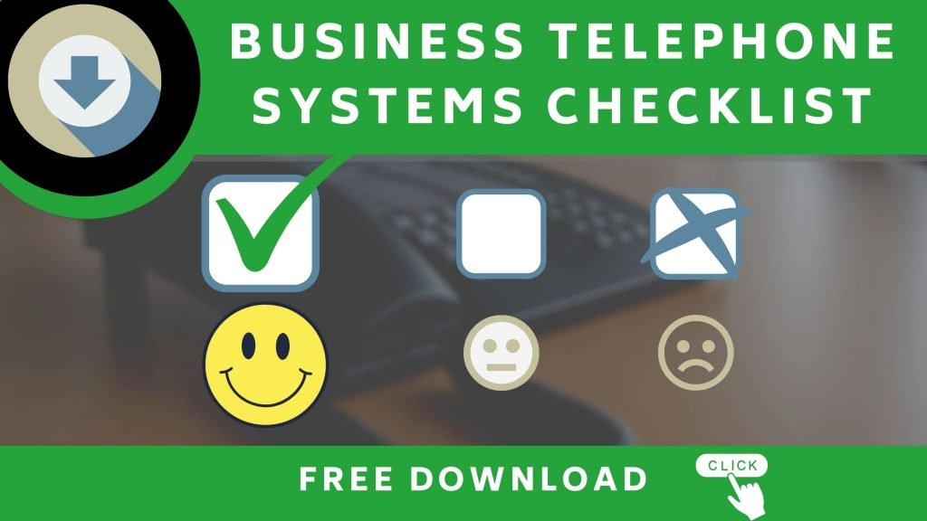 button to download business telephone system checklist